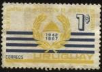 Sellos de America - Uruguay -  25 años del Centro general de instrucción de oficiales de reserva.