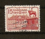 Sellos de Europa - Dinamarca -  Jubileo del Rey Christian X.