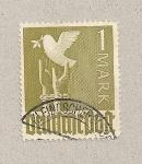 Sellos de Europa - Alemania -  Paloma con rama de olivo