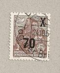 Stamps Germany -  Familia de la DDR