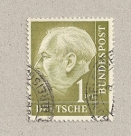 Stamps Germany -  Presidente Theodor Heuss