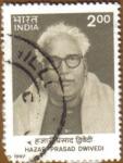 Stamps India -  Hazarfprasad Dwivedi