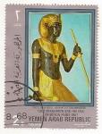 Stamps Yemen -  Tuntankamon