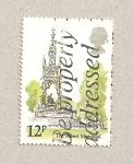 Stamps United Kingdom -  Monumento al príncipe Alberto