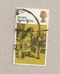 Sellos de Europa - Reino Unido -  Charles Dickens, Oliver