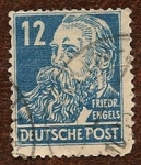Stamps : Europe : Germany :  Friedrich Engels