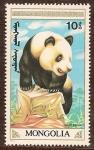 Sellos de Asia - Mongolia -  Panda Gigante