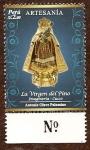 Stamps : America : Peru :  Artesanía Peruana - Imaginería-Cusco. La Virgen del Píno (Autor: Antonio Olave)