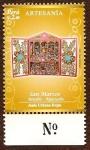 Stamps America - Peru -  Artesanía Peruana - Retablo-Ayacucho. San Marcos (Autor: Jesús Urbano)