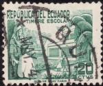 Stamps Ecuador -  PATRIÓTICO Y SANITARIO