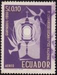 Stamps Ecuador -  III CONGRESO EUCARISTICO NACIONAL