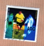 Stamps : Europe : Germany :  Borusia Dormunt Campeón 1996
