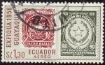 Stamps Ecuador -  EXIFIGUA ( Guayaquil )