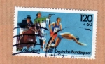 Stamps : Europe : Germany :  Penthalon Moderno (serie2/2)