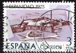 Sellos del Mundo : Europa : España :  2295 Hispanidad, Fortaleza Sta. Teresa, Uruguay