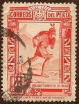 Stamps of the world : Peru :  El Chasqui. Correo de los Incas