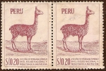 Stamps of the world : Peru :  Vicuña Peruana