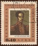 Stamps : America : Venezuela :  Simón Bolívar - Libertador y Padre de la Patria (Autor Anónimo, 1825).