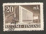 Stamps : Europe : Finland :  267 - Edificio de Correos de Helsinki