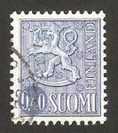 Sellos de Europa - Finlandia -  león rampante