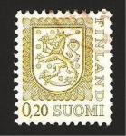Sellos de Europa - Finlandia -  771 - Escudo nacional