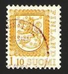 Sellos de Europa - Finlandia -  791 - escudo nacional