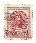 Stamps Argentina -  correo terrestre
