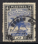 Sellos del Mundo : Africa : Sudán : Camel Post-1927