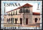 Sellos de Europa - España -  2213 Hispanidad. Casa del Virrey Sobremonte, Córdoba, Argentina.