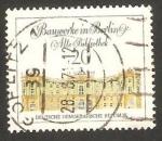 Stamps Germany -  1353 - Antigua biblioteca de Berlin