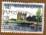 sellos de Europa - Bélgica -  EUROPA CEPT