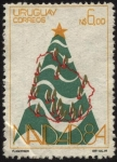 Sellos de America - Uruguay -  Navidad año 1984.
