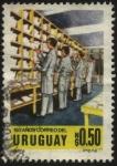 Stamps Uruguay -  150 años del correo del Uruguay. Clasificación de correspondencia.