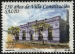 Sellos de America - Uruguay -  150 años de la Villa Constitución en el Departamento de Salto. Histórica localidad del norte de Urug