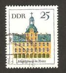 Sellos de Europa - Alemania -  edificio de moritzburg de zeitz