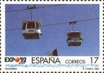 Stamps : Europe : Spain :  EXPOSICION UNIVERSAL DE SEVILLA .EXPO92