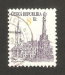 Stamps : Europe : Czech_Republic :  vista de olomouc
