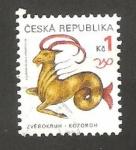 Stamps : Europe : Czech_Republic :  capricornio signo del zodiaco
