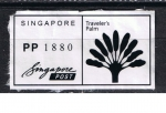 Stamps : Asia : Singapore :  Traveler´s  Palm