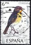 Sellos del Mundo : Europa : España :  2820 Pájaros. Curruca carrasqueña.