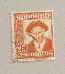 Sellos de Europa - Andorra -  consejero general
