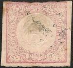 Stamps America - Peru -  Escudo Peruano en Un Dinero