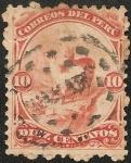 Sellos de America - Perú -  Emisión de American Bank Note Co. NY