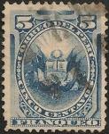 Stamps Peru -  Emisión con Rejilla de American Bank Note Co. NY