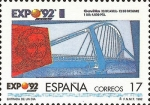 Stamps : Europe : Spain :  EXPOSICION UNIVERSAL DE SEVILLA.EXPO92