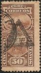 Sellos de America - Perú -  Sello de Multa con sobrecarga de Triangulo