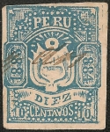 Stamps America - Peru -  Sello Departamental de Arequipa