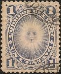 Stamps America - Peru -  Emisión sin rejilla de American Bank Note Co. NY