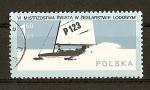 Sellos de Europa - Polonia -  Campeonato Mundial de Yachting sobre Hielo.