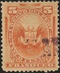 Stamps Peru -  Emisión sin rejilla de American Bank Note Co. NY